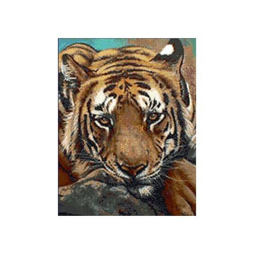 """Набор для вышивания крестом Kustom Krafts Inc. """"Сибирский тигр"""" (фото, вид 2)"""