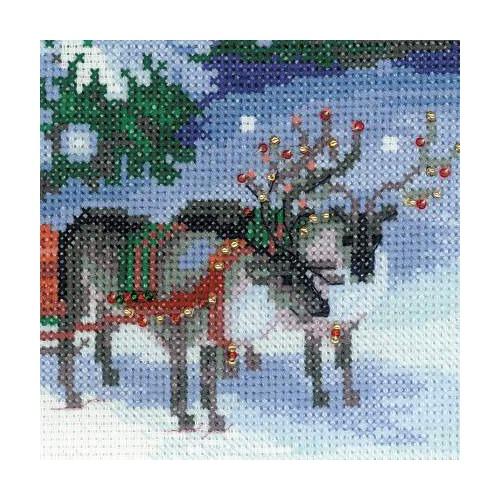 """Набор для вышивания крестом Риолис """"Накануне Рождества"""" (фото, вид 1)"""