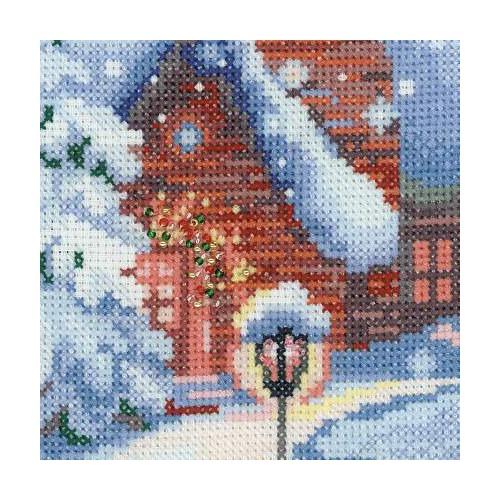"""Набор для вышивания крестом Риолис """"Накануне Рождества"""" (фото, вид 2)"""