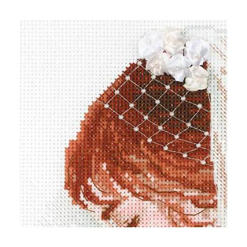 """Набор для вышивания крестом Риолис """"Невеста"""" (фото, вид 1)"""