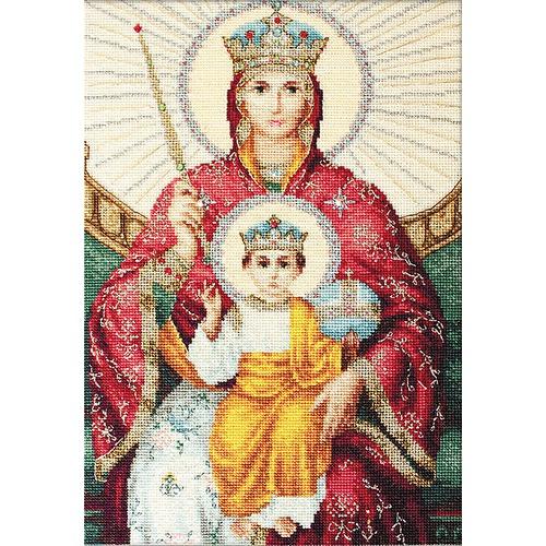 """Набор для вышивания крестом Luca-S """"Икона Божией Матери Державная"""" (фото, вид 1)"""