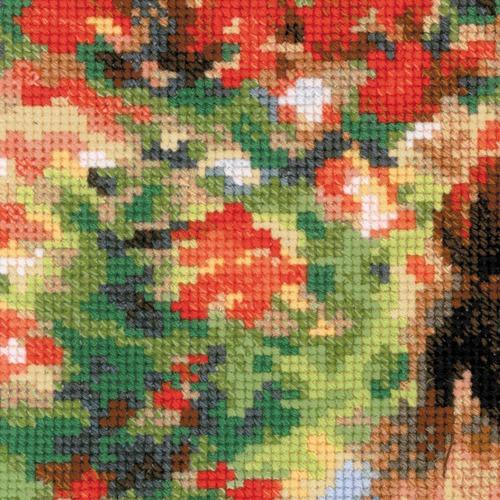 """Набор для вышивания крестом Риолис """"Мадам Моне за вышивкой (К. Моне)"""" (фото, вид 1)"""