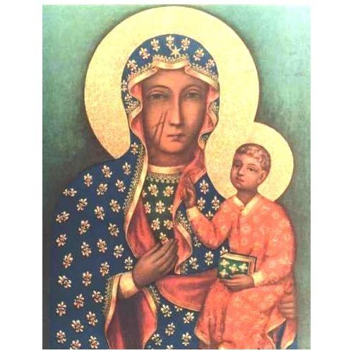 """Набор для вышивания крестом Thea Gouverneur """"Ченстоховская икона Божией Матери"""" (фото, вид 1)"""