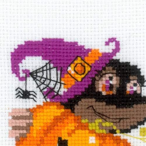 """Набор для вышивания крестом Риолис """"Happy Halloween"""" (фото, вид 1)"""