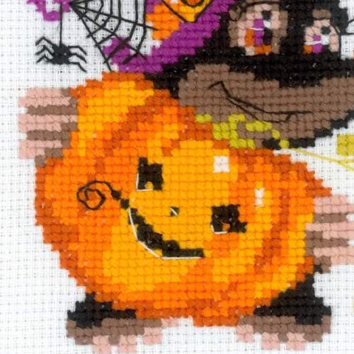 """Набор для вышивания крестом Риолис """"Happy Halloween"""" (фото, вид 2)"""