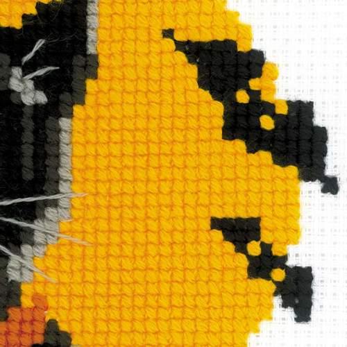 """Набор для вышивания крестом Риолис """"Черный кот"""" (фото, вид 2)"""
