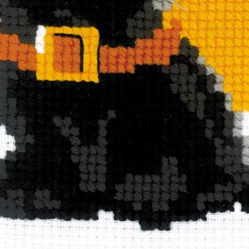 """Набор для вышивания крестом Риолис """"Черный кот"""" (фото, вид 3)"""