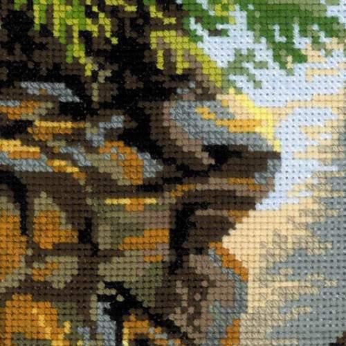 """Набор для вышивания крестом Риолис """"Лесная хозяйка"""" (фото, вид 2)"""