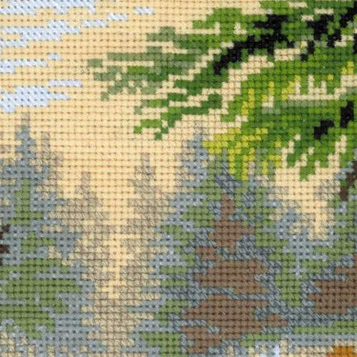"""Набор для вышивания крестом Риолис """"Лесная хозяйка"""" (фото, вид 3)"""