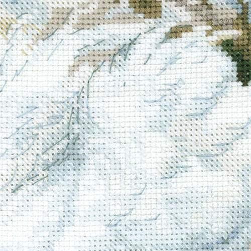 """Набор для вышивания крестом Риолис """"Белые лебеди"""" (фото, вид 2)"""