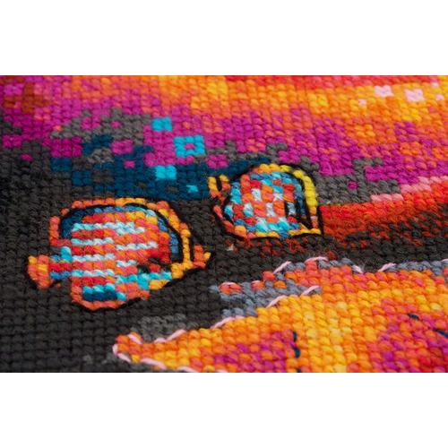 """Набор для вышивания крестом Риолис """"Подводное царство"""" (фото, вид 2)"""