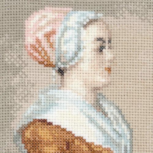 """Набор для вышивания крестом Риолис """"Шоколадница (Ж.Э. Лиотар)"""" (фото, вид 1)"""