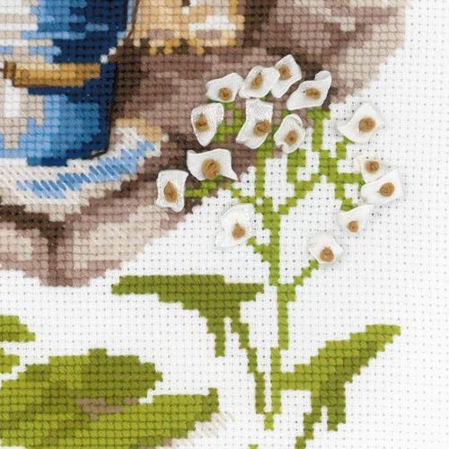 """Набор для вышивания крестом Риолис """"Ловись рыбка"""" (фото, вид 2)"""