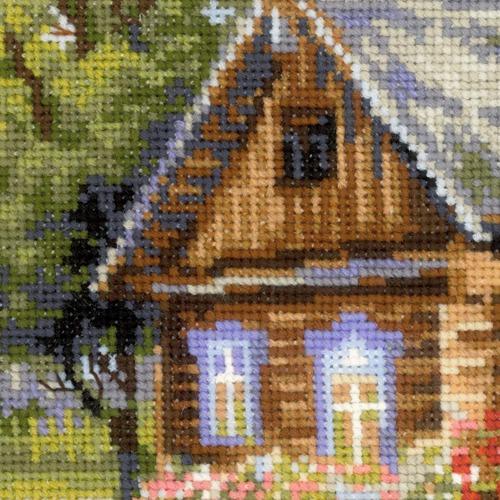 """Набор для вышивания крестом Риолис """"Деревенский полдень"""" (фото, вид 2)"""