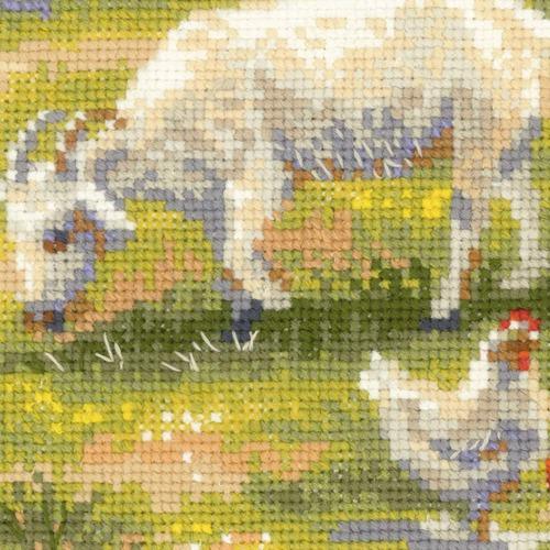 """Набор для вышивания крестом Риолис """"Деревенский полдень"""" (фото, вид 3)"""
