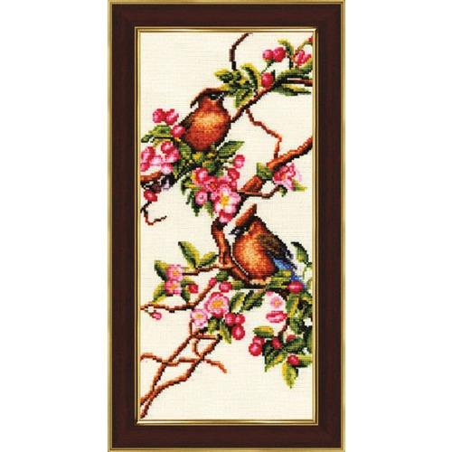 """Набор для вышивания крестом Золотое Руно """"Яблоня в цвету"""""""