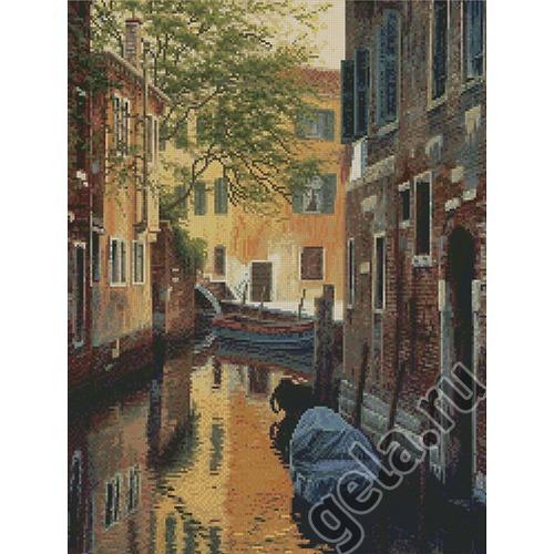"""Набор для вышивания крестом Candamar Designs """"Венецианский канал"""""""