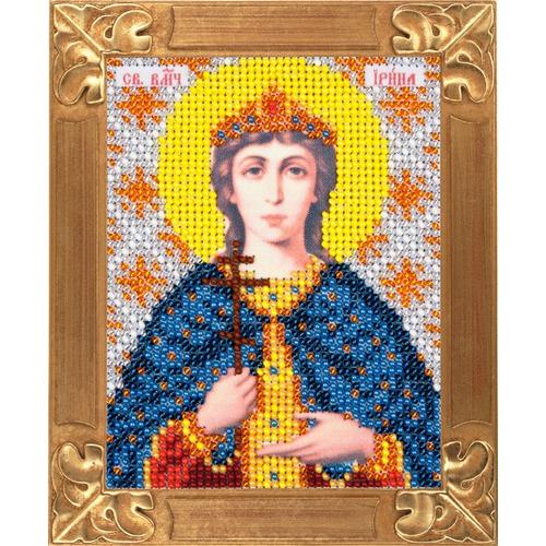 """Набор для вышивания бисером Вертоградъ """"Святая Великомученица Ирина"""""""