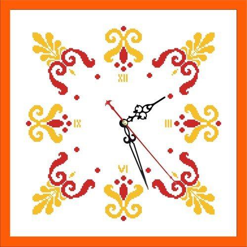 """Набор для вышивания бисером Zengana """"Часы. Осень"""" (фото)"""