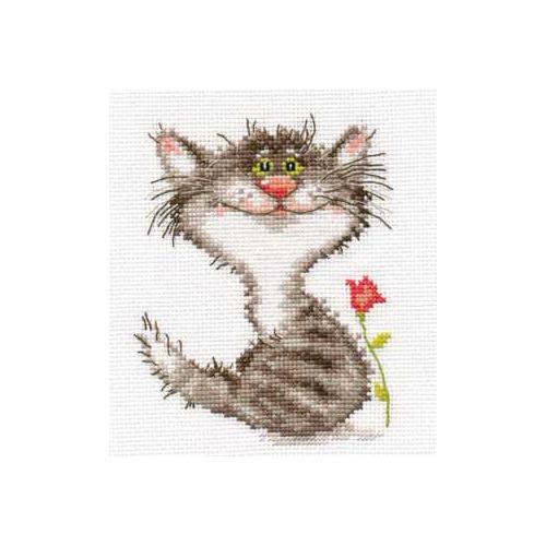 """Набор для вышивания крестом Алиса """"Кис"""""""