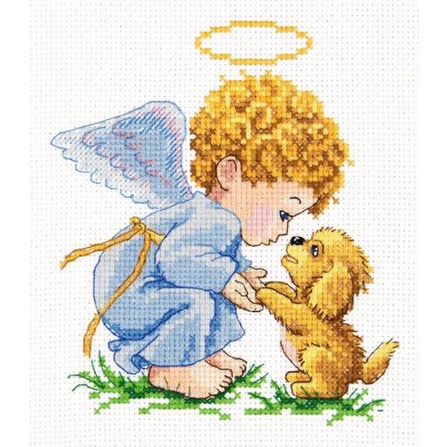 """Набор для вышивания крестом Чудесная игла """"Мой добрый ангел!"""""""