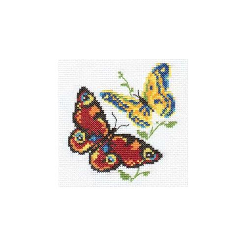 """Набор для вышивания крестом Алиса """"Бабочки-красавицы"""""""