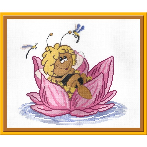 """Набор для вышивания крестом М.П. Студия """"Пчелка"""""""