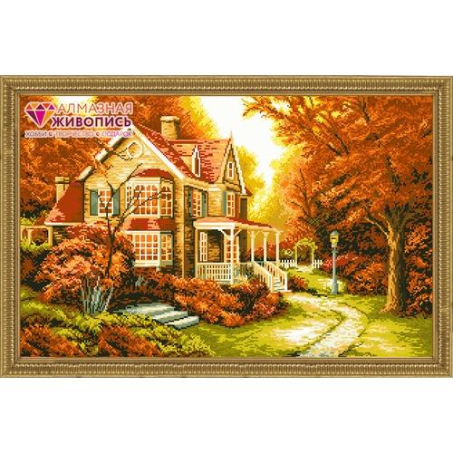 """Набор для выкладывания мозаики Алмазная живопись """"Золотая осень"""""""