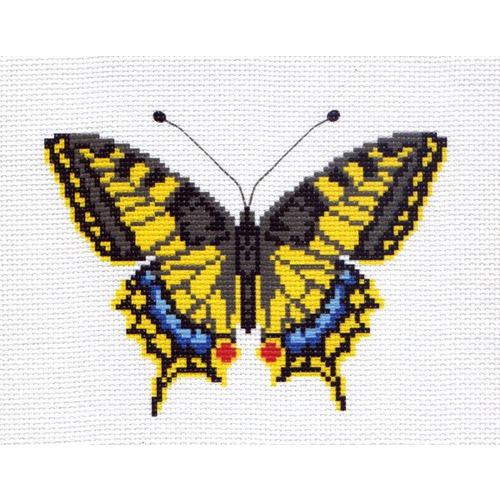 "Канва/ткань с нанесенным рисунком Матрёнин посад ""Бабочка 1"""
