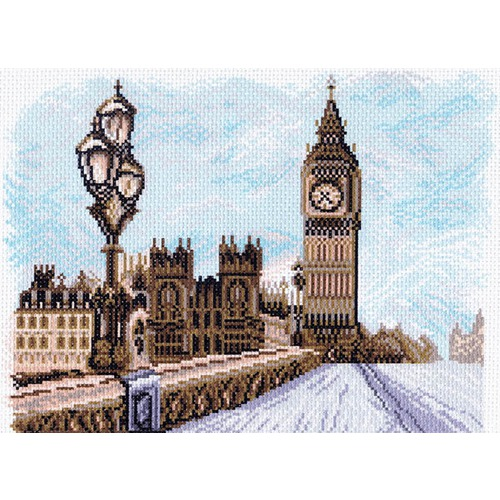 """Канва/ткань с нанесенным рисунком Матрёнин посад """"Лондон"""""""