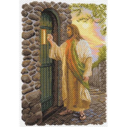 """Канва/ткань с нанесенным рисунком Матрёнин посад """"Иисус"""""""