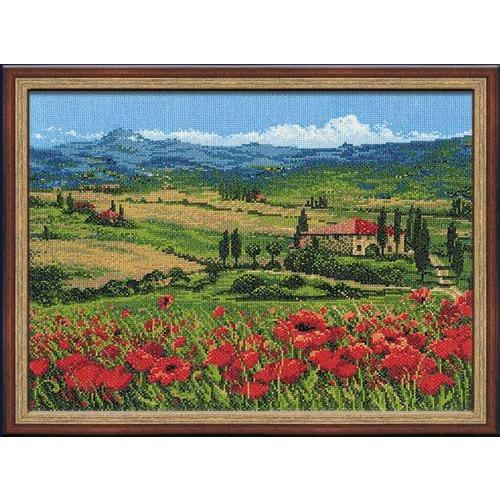 """Набор для вышивания крестом Риолис """"Тоскана"""""""