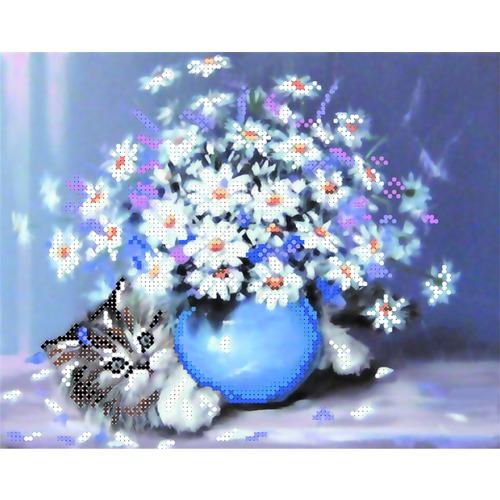 """Канва/ткань с нанесенным рисунком Матрёнин посад """"Котёнок"""""""