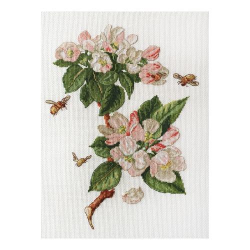 """Набор для вышивания крестом Марья искусница """"Цветущая яблоня"""""""