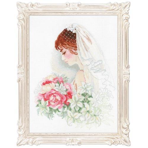 """Набор для вышивания крестом Риолис """"Невеста"""" (фото)"""