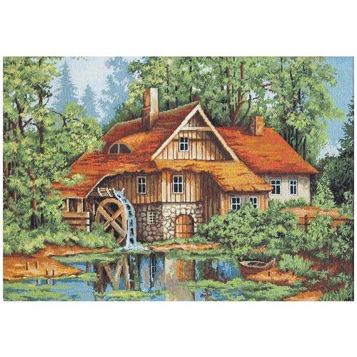 "Гобелен Luca-S ""Мельница в лесу"""