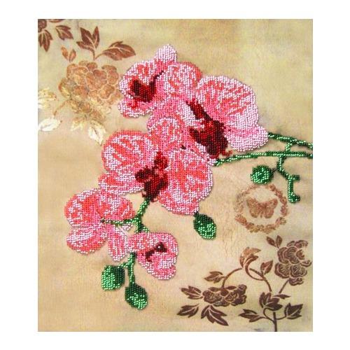 """Набор для вышивания бисером Глурия (Астрея) """"Орхидея"""""""