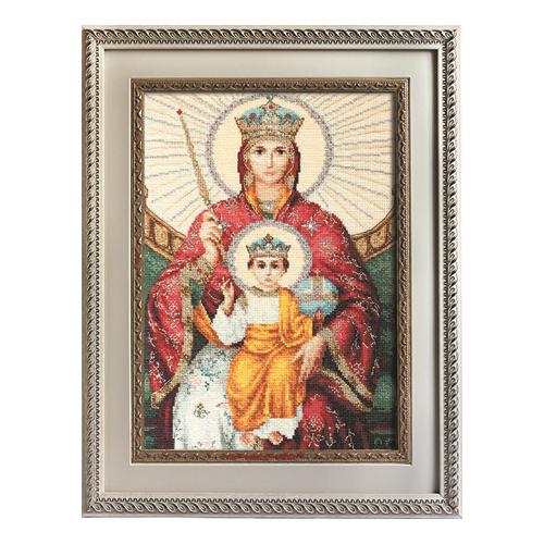 """Набор для вышивания крестом Luca-S """"Икона Божией Матери Державная"""" (фото)"""