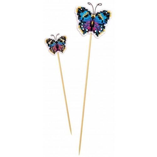 """Набор для вышивания крестом Риолис Украшение для цветов """"Бабочка"""""""