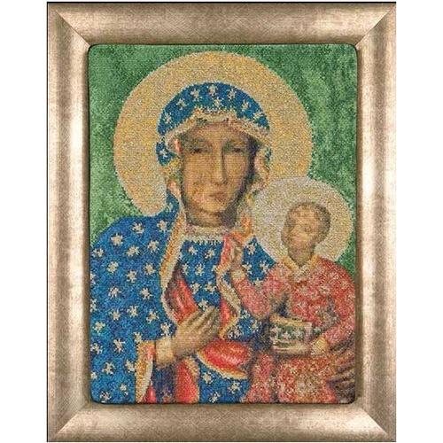 """Набор для вышивания крестом Thea Gouverneur """"Ченстоховская икона Божией Матери"""" (фото)"""