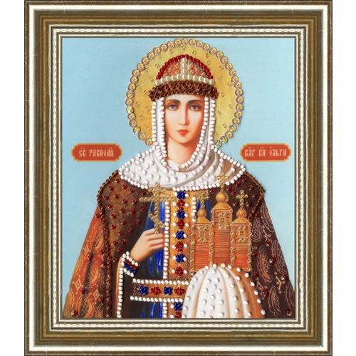 """Набор для вышивания бисером Золотое Руно """"Икона Святой Равноапостальной Княгини Ольги"""""""