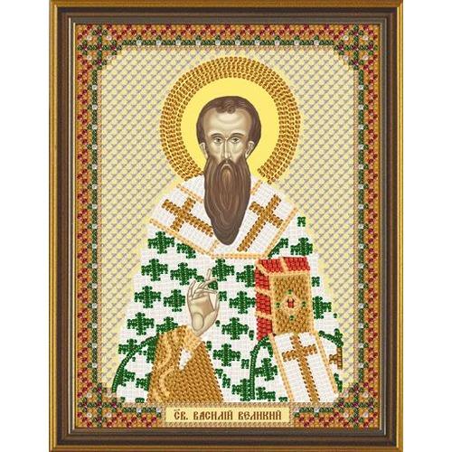 """Набор для вышивания бисером Nova sloboda """"Свт. Василий Великий"""""""