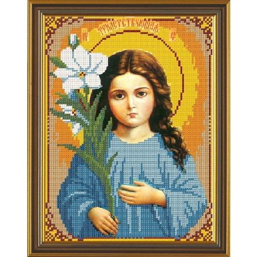 """Набор для вышивания бисером Nova sloboda """"Богородица «Трилетствующая»"""""""