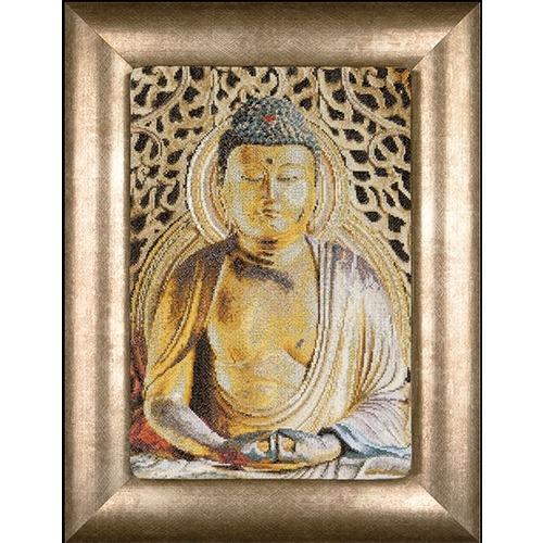 """Набор для вышивания крестом Thea Gouverneur """"Будда"""""""