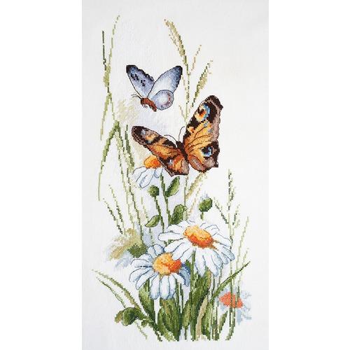 """Набор для вышивания крестом Марья искусница """"Луговые цветы"""""""