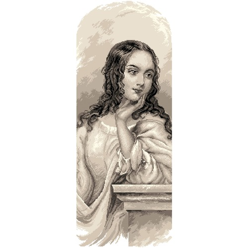 "Канва/ткань с нанесенным рисунком Матрёнин посад ""Джульетта"""