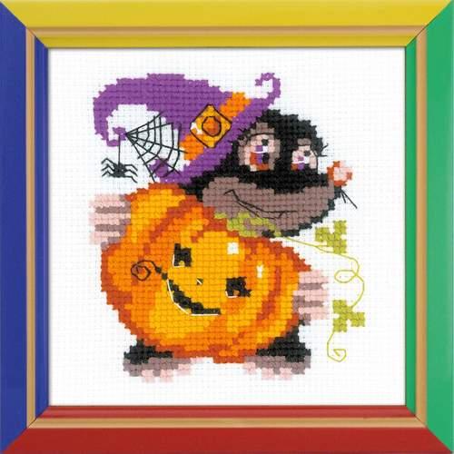 """Набор для вышивания крестом Риолис """"Happy Halloween"""" (фото)"""