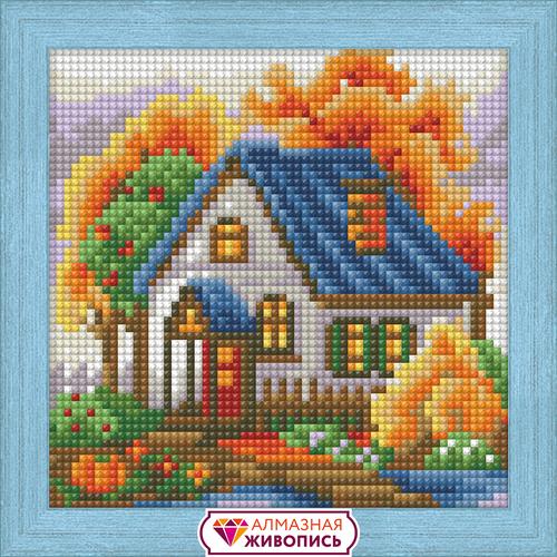 """Набор для выкладывания мозаики Алмазная живопись """"Осенний домик"""""""