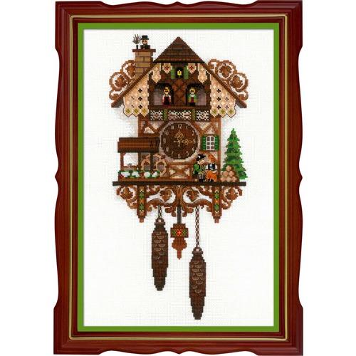 """Набор для вышивания крестом Риолис """"Часы с кукушкой"""""""