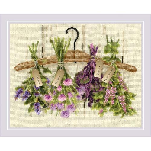 """Набор для вышивания крестом Риолис """"Пряные травы"""" (фото)"""